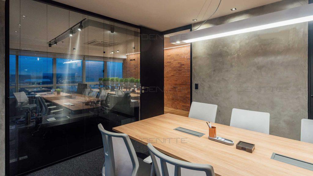 یک نمونه ایده پردازی برای  طراحی دفتر کار کوچک