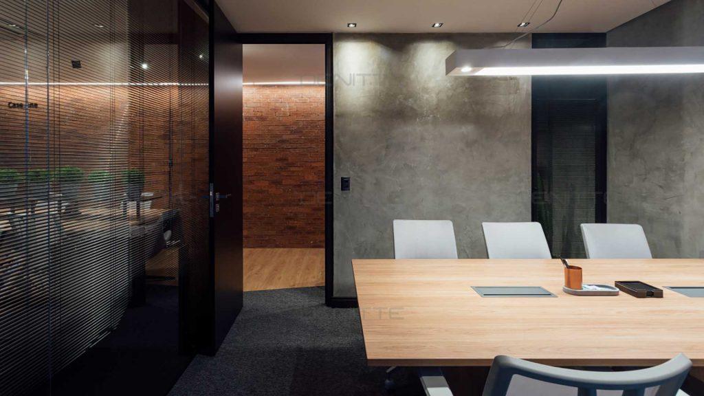 نورپردازی  طراحی دفتر کار کوچک