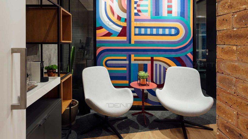 مبلمان اداری طراحی دفتر کار کوچک