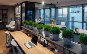 طراحی دفتر کار کوچک یک استارتاپ و جزئیاتی که در آن دیده شده