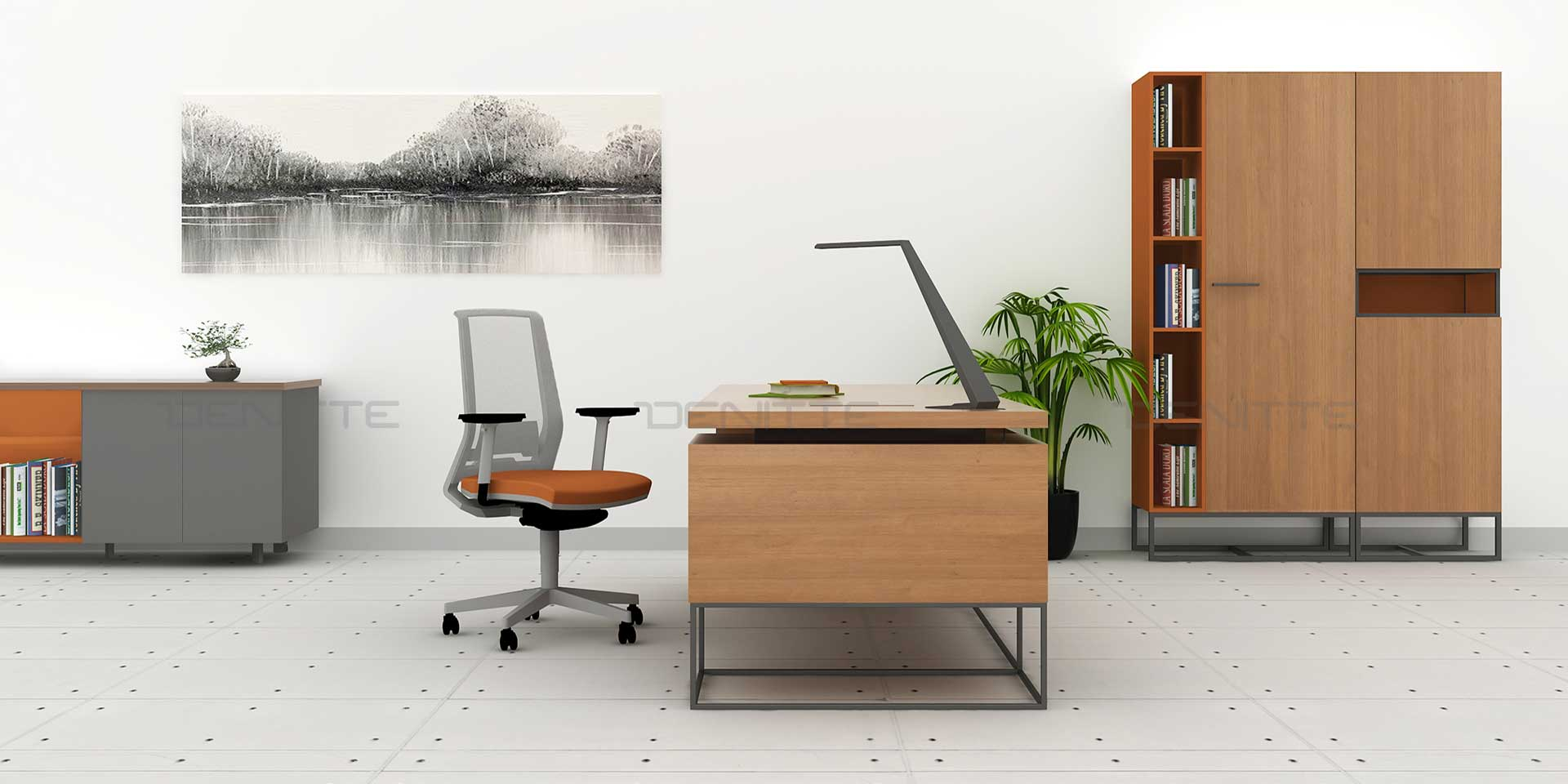 صندلی کارمندی و صندلی مدیریتی D750