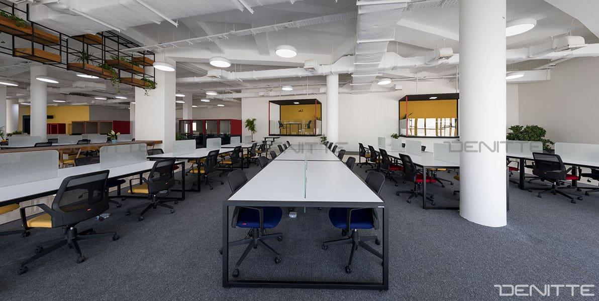 میزهای اداری در پروژه پارک فناوری پردیس
