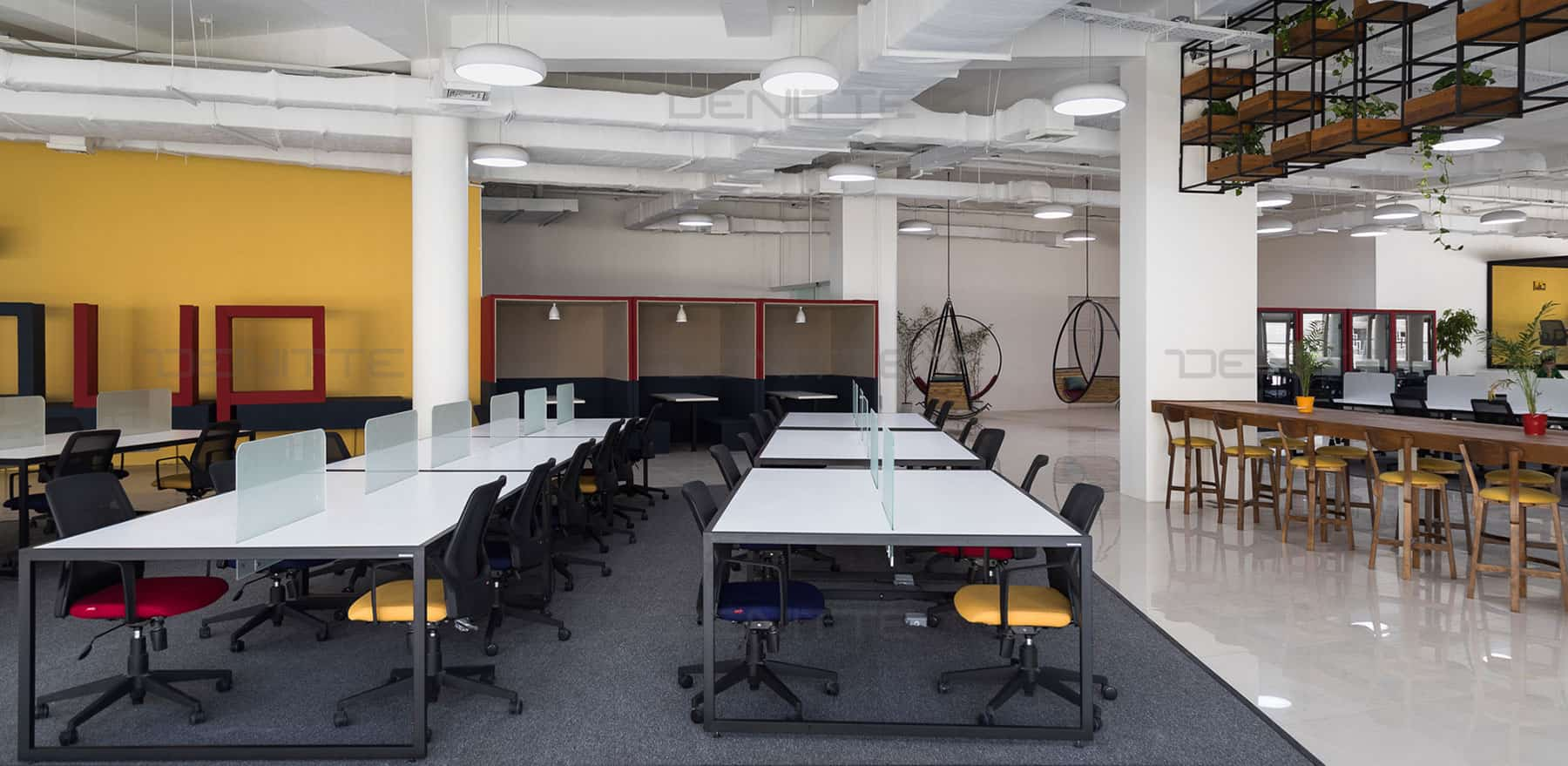 مبلمان اداری در پروژه پارک فناوری پردیس-دنیته