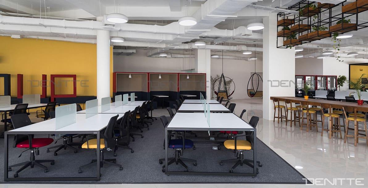 مبل اداری مدرن در پروژه پارک فناوری پردیس