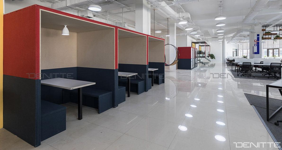 مبل اداری و پاف در پروژه پارک فناوری پردیس