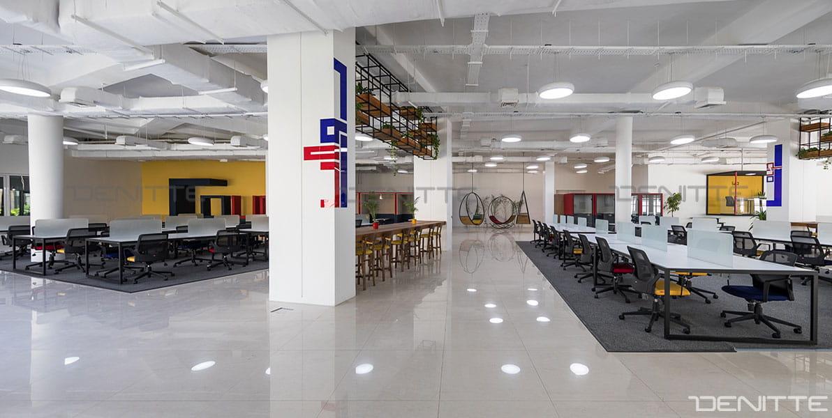 مبلمان اداری در پروژه پارک فناوری پردیس