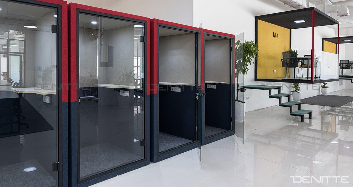 اتاق تلفن در پروژه پارک فناوری پردیس