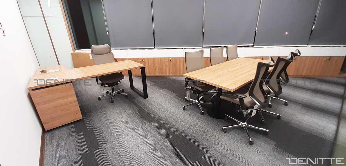 میز مدیریت و صندلی