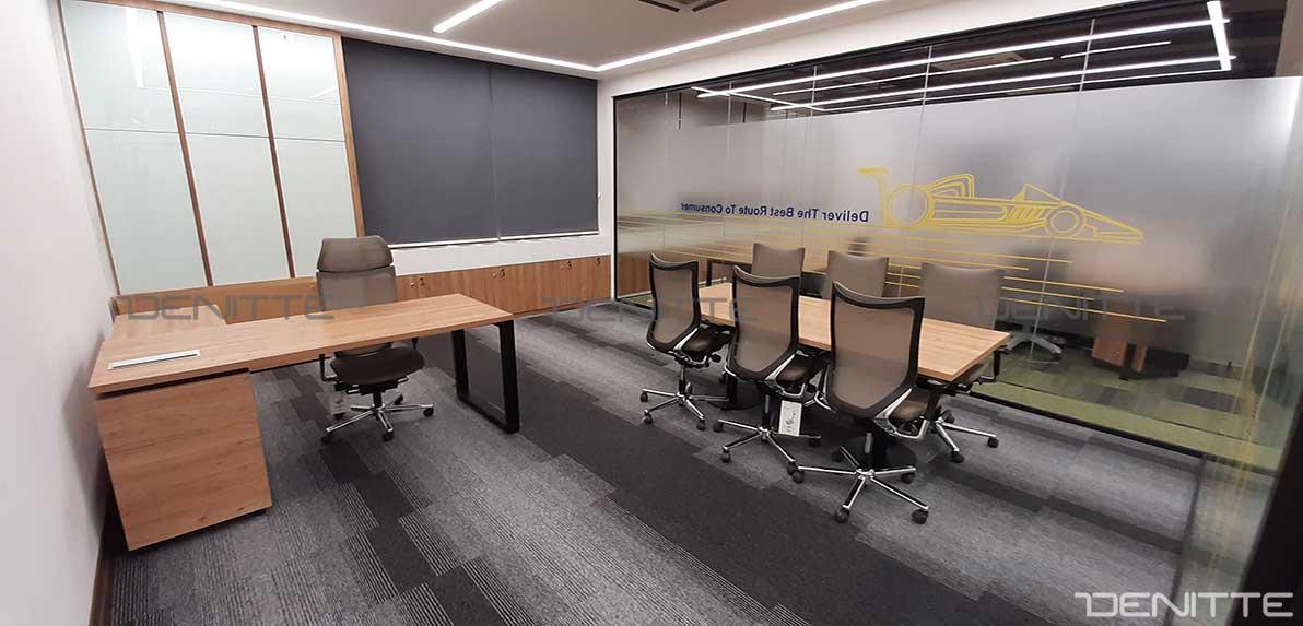 میز های اداری در پروژه bat