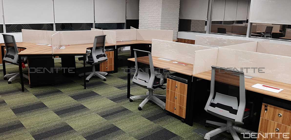 میز های کار گروهی در پروژه bat